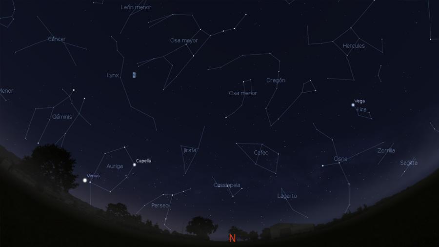 ¿Sabes ver las constelaciones del cielo de verano?