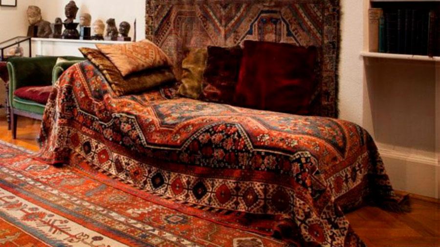 El diván de Freud, el mueble que cambió la psiquiatría