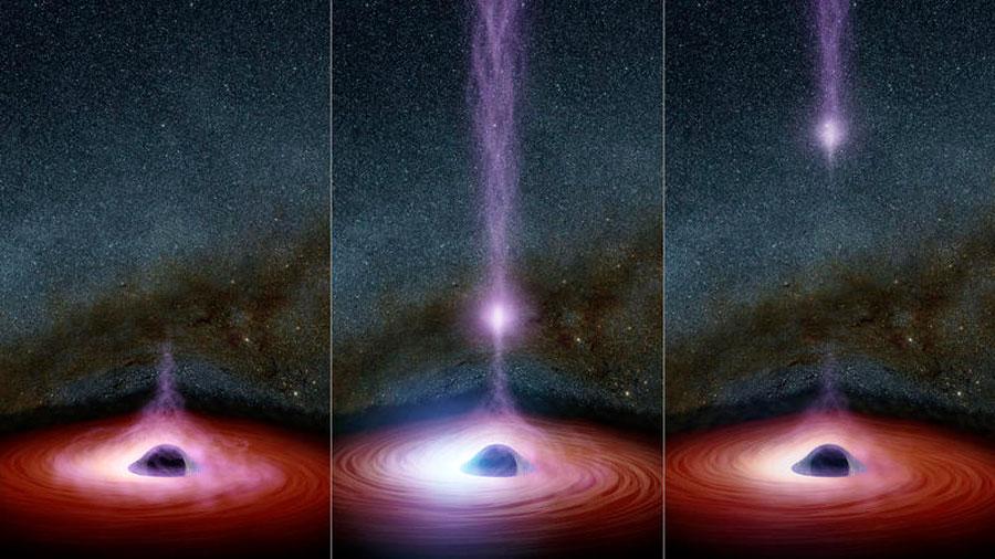 La vía láctea tiene 100 millones de agujeros negros. ¿Quién los ha contado?