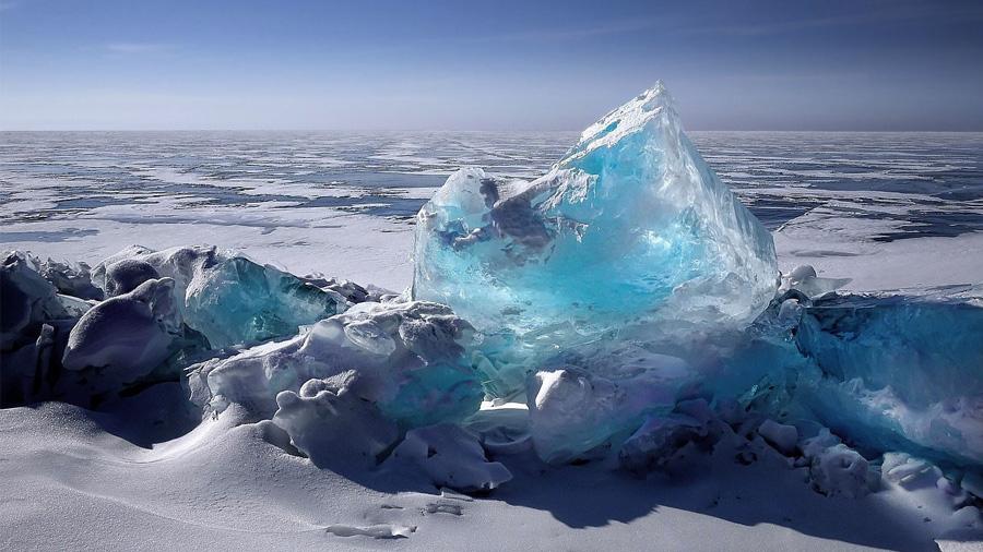 El trozo de hielo más antiguo jamás encontrado tiene muestras únicas de atmósfera primitiva en sus burbujas