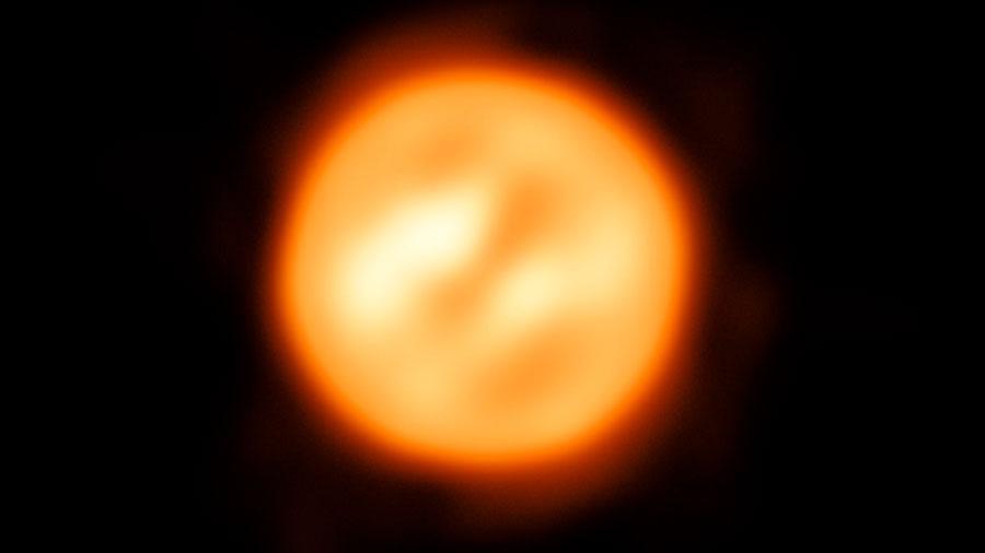 Astrónomos construyen el primer mapa de movimiento de material sobre una estrella distinta al Sol