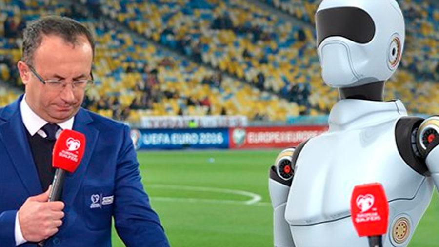 Corea del Sur presenta a 'Soccerbot', su primer 'robot periodista'