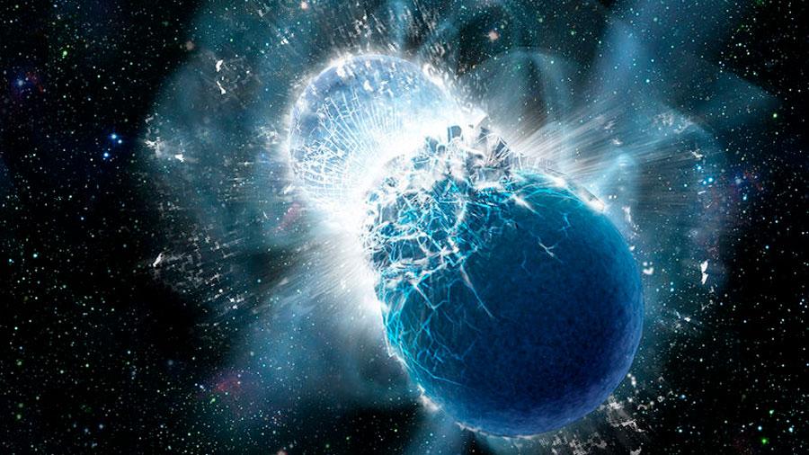 Descubren indicios de un nuevo tipo de ondas gravitacionales causadas por estrellas de neutrones
