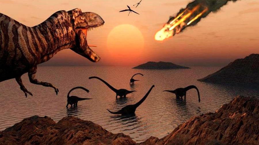 Así fue la 'larga noche' que acabó con los dinosaurios