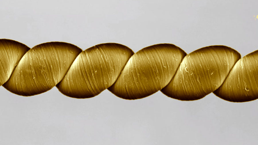 """""""Twistron"""", la tecnología que genera electricidad al ser estirada o retorcida"""