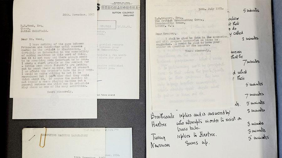 Halladas 148 cartas inéditas de Alan Turing, el padre de la inteligencia artificial