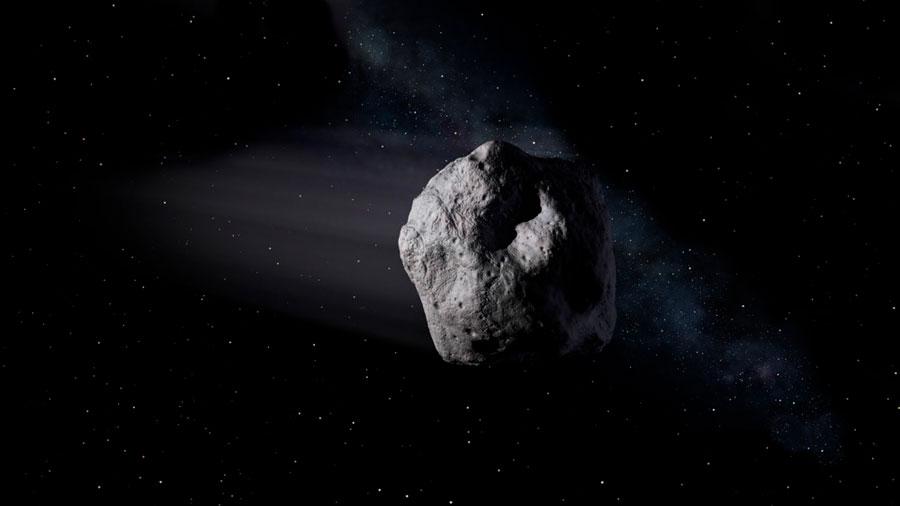 Un asteroide gigante roza la Tierra este viernes