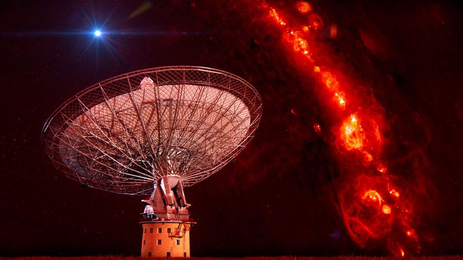 Quince misteriosas ráfagas de luz cósmica desatan una alerta científica