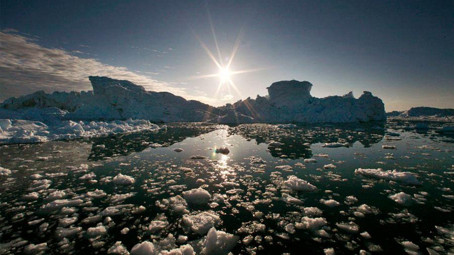 Los volcanes calentaron la tierra mientras Groenlandia se separaba de Europa