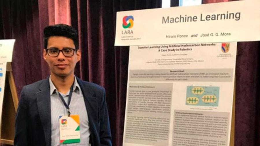 Por su trabajo en transferencia de aprendizaje entre robots, mexicano es premiado por Google