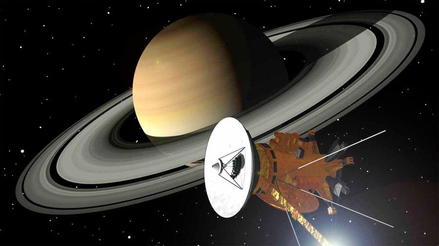 Estrellarán a 'Cassini' en Saturno el 15 de septiembre