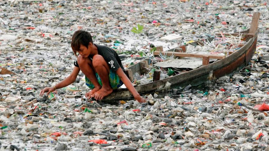 Descubren otra isla de plástico en el océano Pacífico