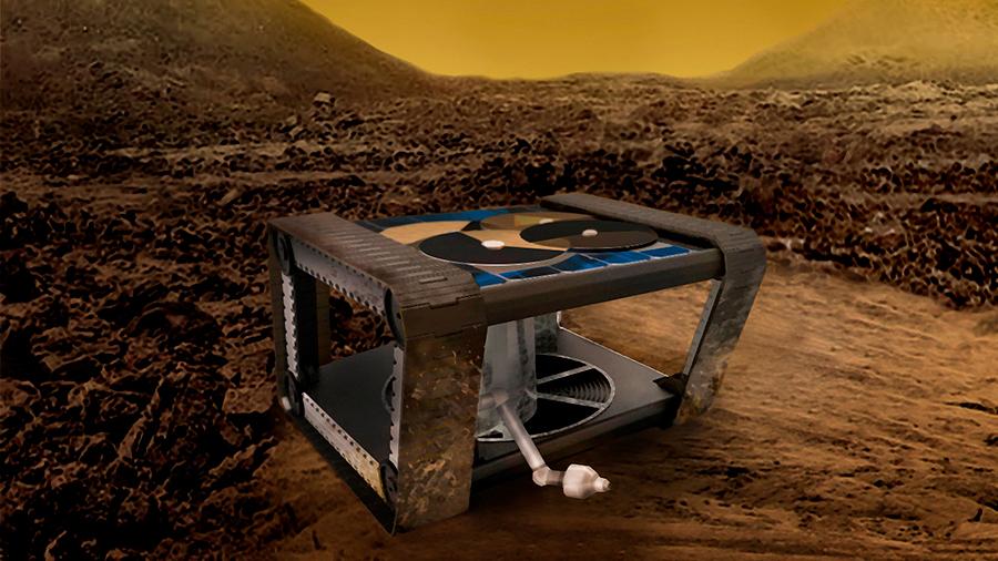 Insólito robot basado solo en la mecánica, para superar a los electrónicos en un ambiente extremo