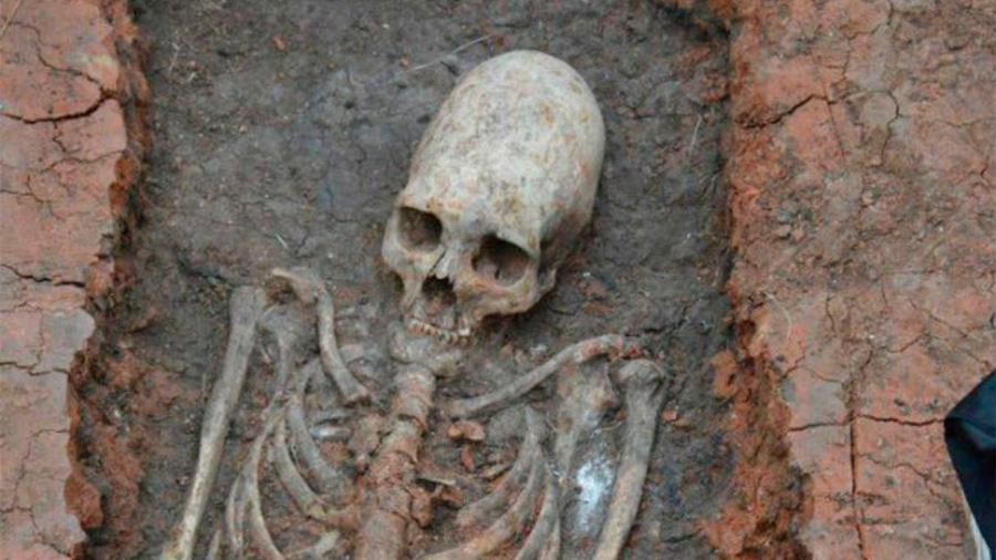 Descubren una civilización antigua con cabezas alargadas