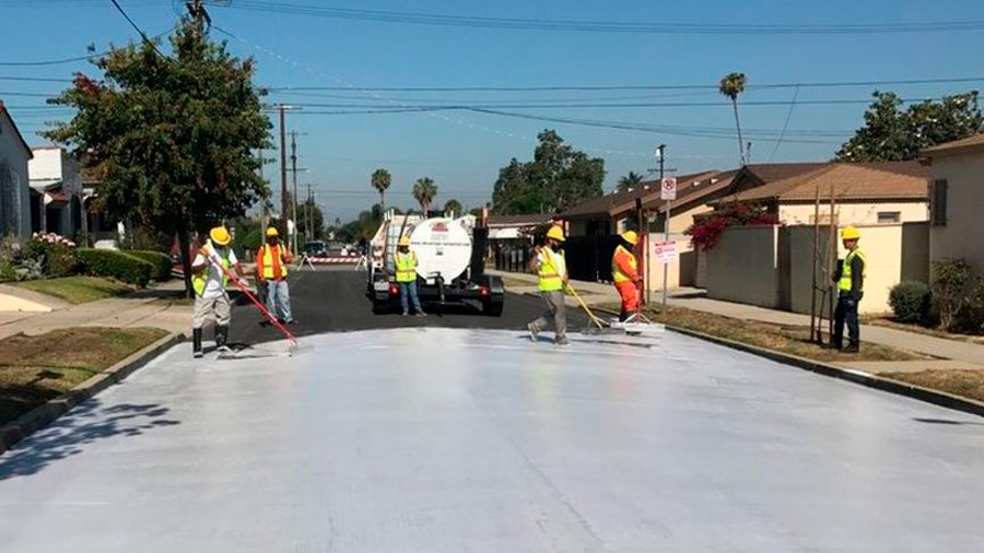 Esta pintura para pavimentos es una nueva arma contra el calentamiento global