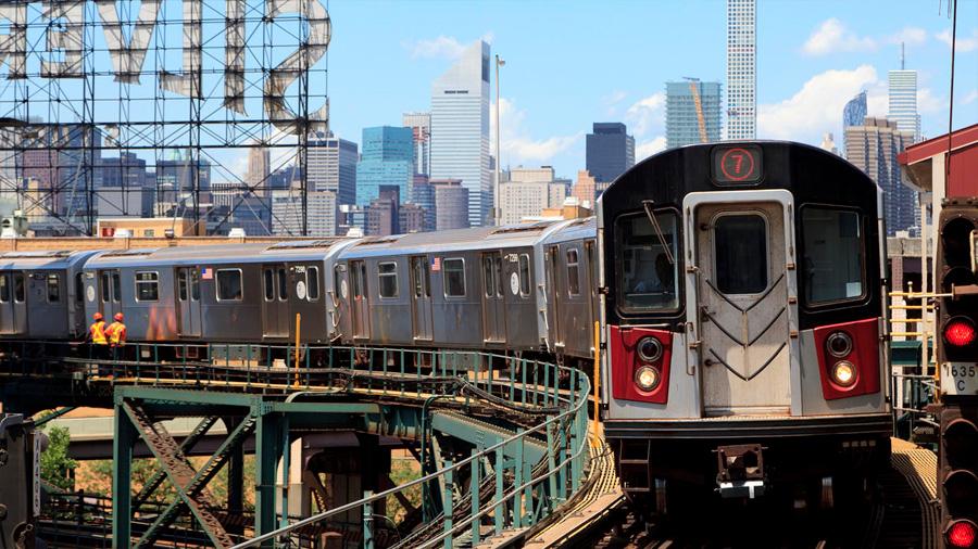 Parte del metro de Nueva York funciona según la física matemática