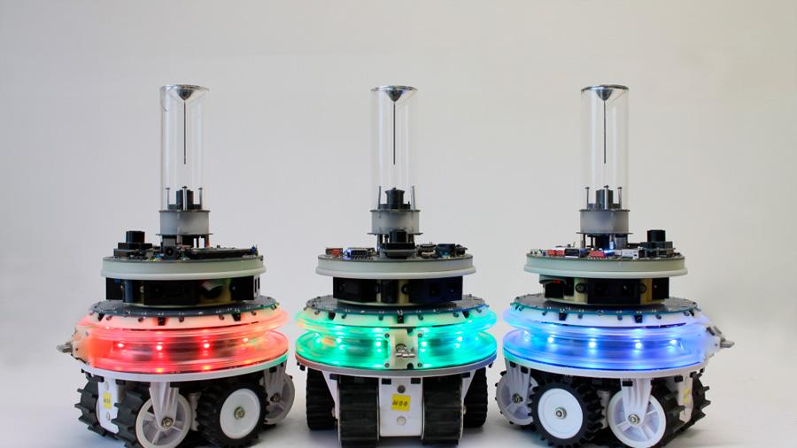 Desarrollan robots modulares que se acoplan, dividen y autorreparan