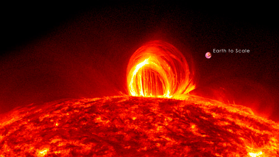 VÍDEO La mayor erupción solar en doce años, vista en detalle