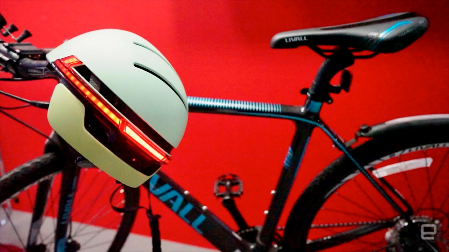 BH5, casco inteligente para ciclistas