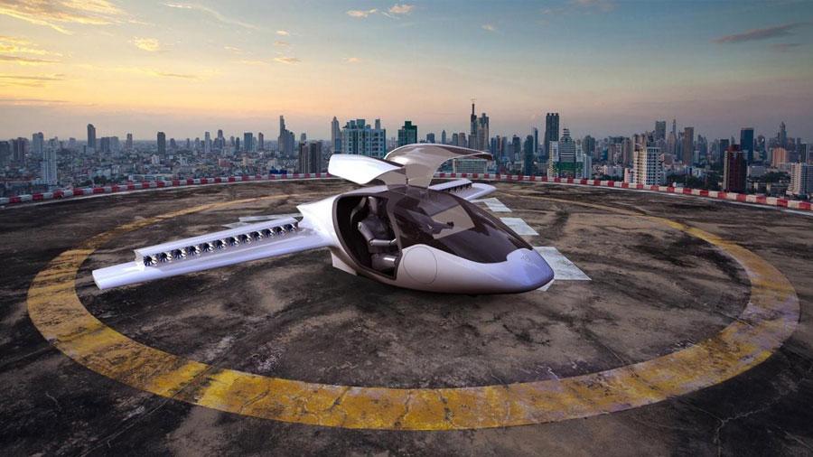Lilium, una nueva empresa de autos voladores, obtiene 90 millones de dólares
