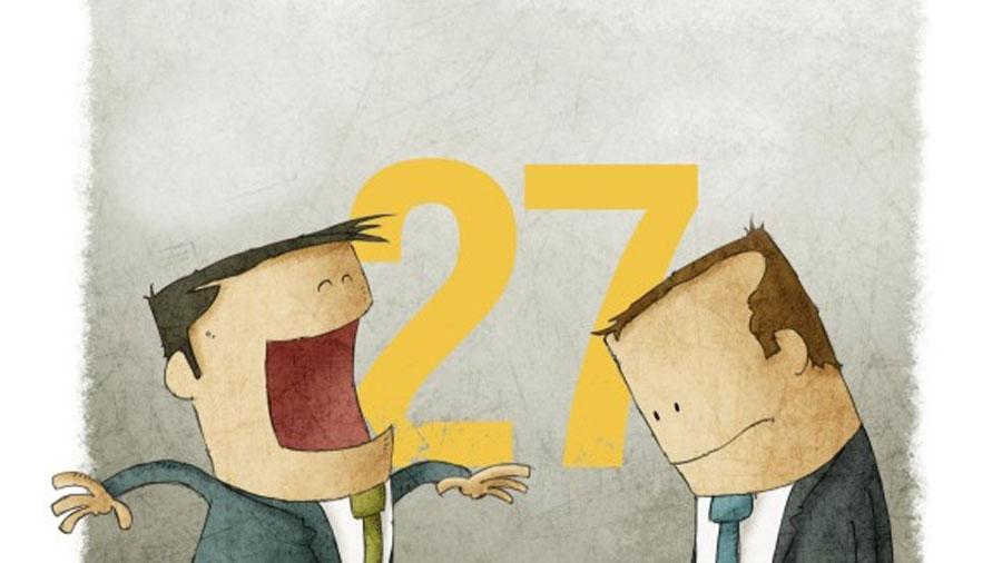 No son 6, son 27 las emociones humanas