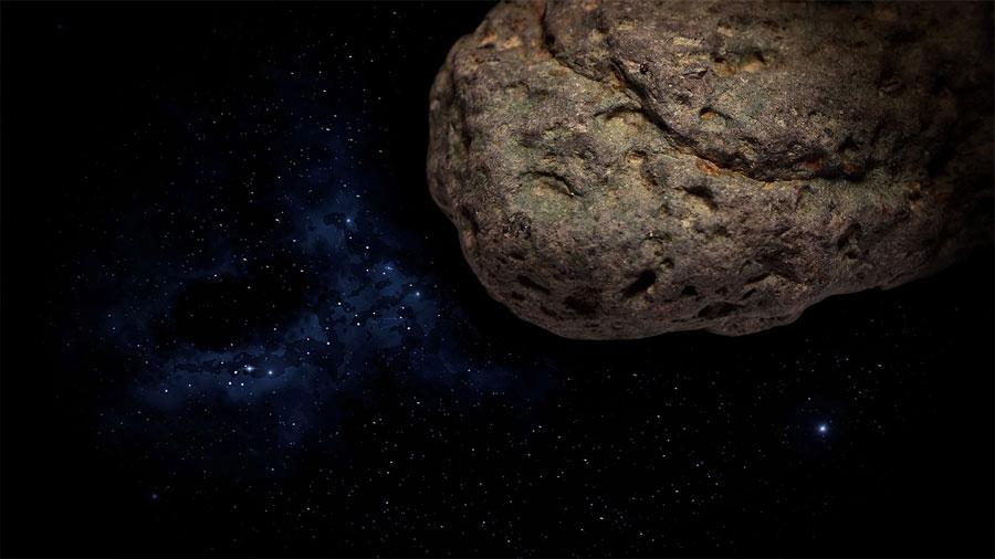 Moléculas llegadas en meteoritos, ligadas al origen del ADN