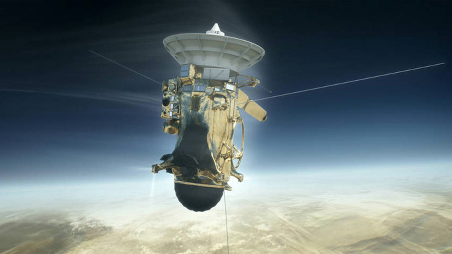 Final espectacular de la misión Cassini