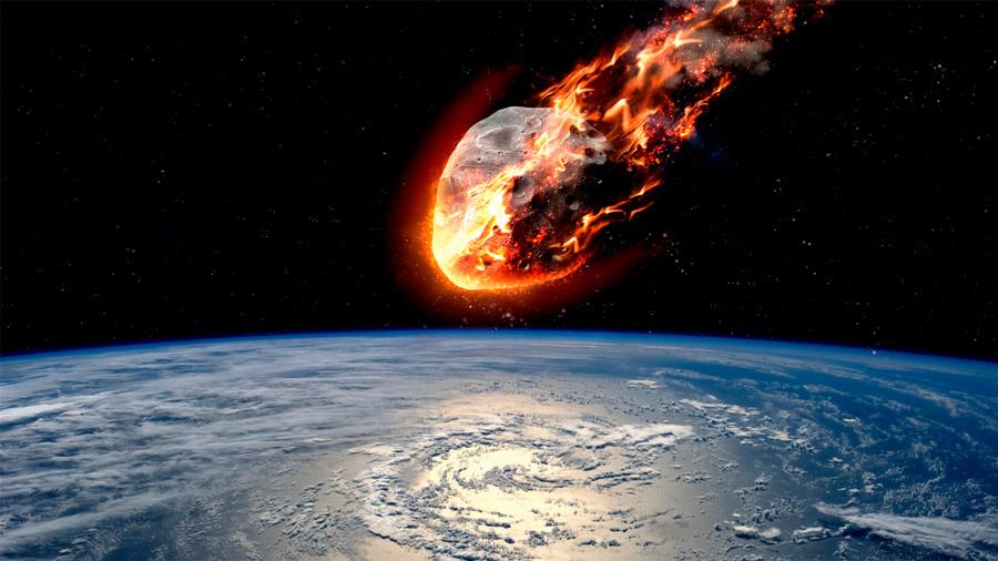 La temperatura más alta jamás registrada en la Tierra es de más de 2.300ºC, y fue culpa de un asteroide