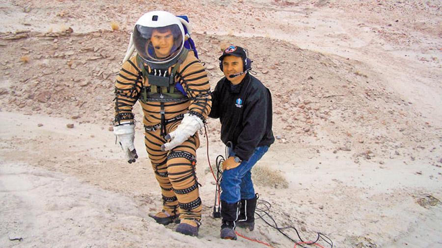 Ingeniero argentino desarrolla hábitat en el que vivirán astronautas en Marte