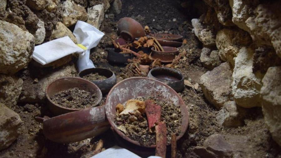 Descubierta en Guatemala una tumba real maya de hace 1.700 años