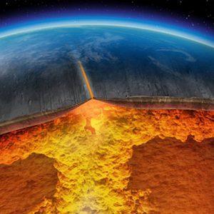 Cambios en la corteza terrestre, ligados al aumento de oxígeno