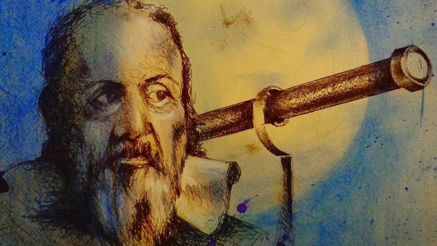 Galileo y su telescopio, los primeros ojos hacia el espacio