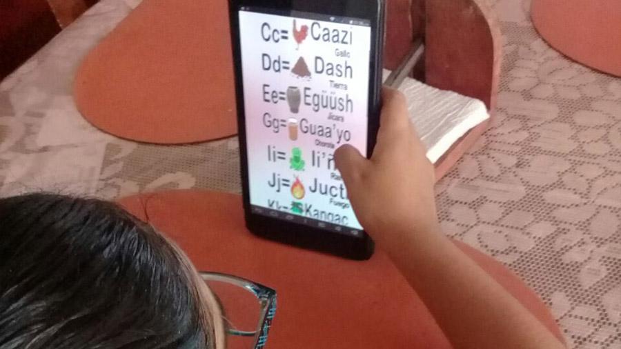 Desarrollan estudiantes aplicación móvil para conservación de lengua mexicana casi muerta