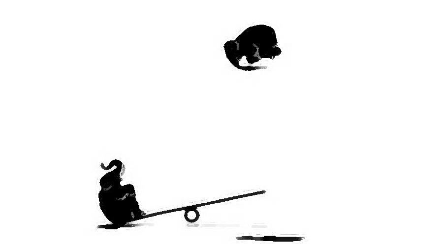 Este vídeo no tiene sonido pero puedes oír a los elefantes: así te engaña tu mente