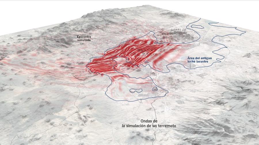 Por qué la geografía de Ciudad de México agrava los sismos