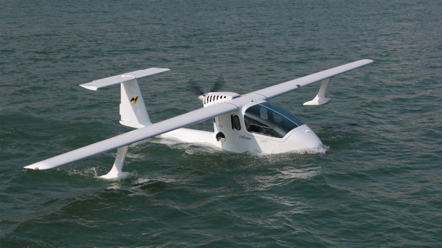 Crean el primer dron anfibio capaz de transportar hasta 250 kilos
