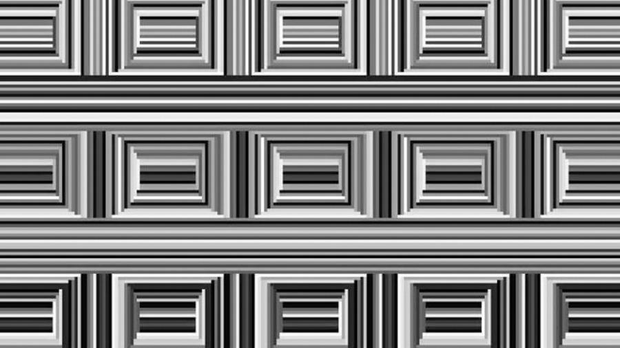 En esta ilusión óptica hay 16 círculos, pero tu cerebro está condicionado para no verlos