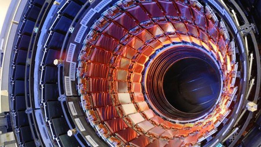 Así 'canta' el Gran Colisionador de Hadrones en el CERN