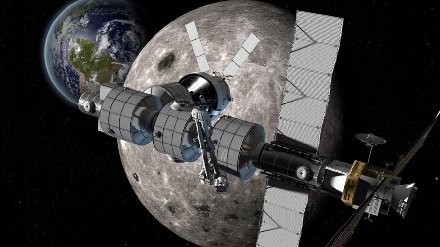 Histórico: Rusia y EE.UU. construirán una base espacial en la Luna