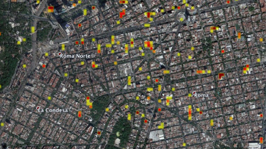 NASA entrega a México mapa satelital de zonas dañadas por sismo