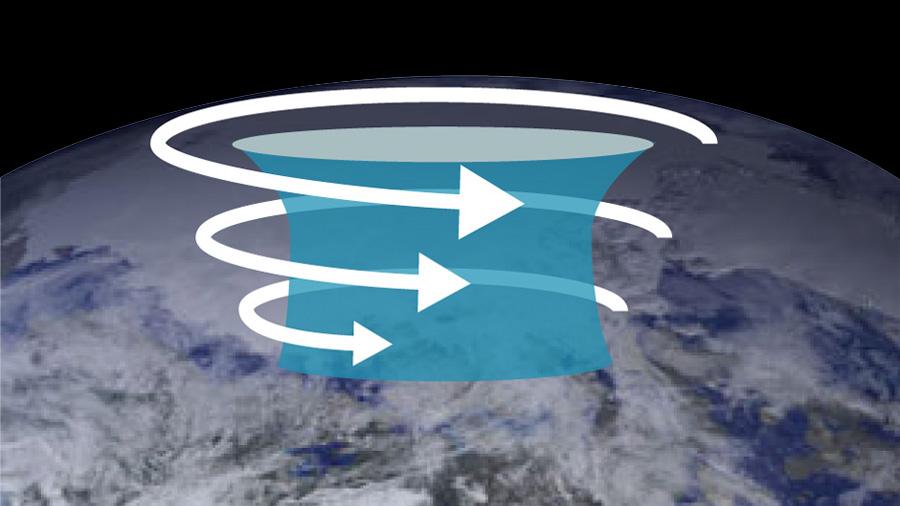 El vórtice polar es el que causa las olas de frío