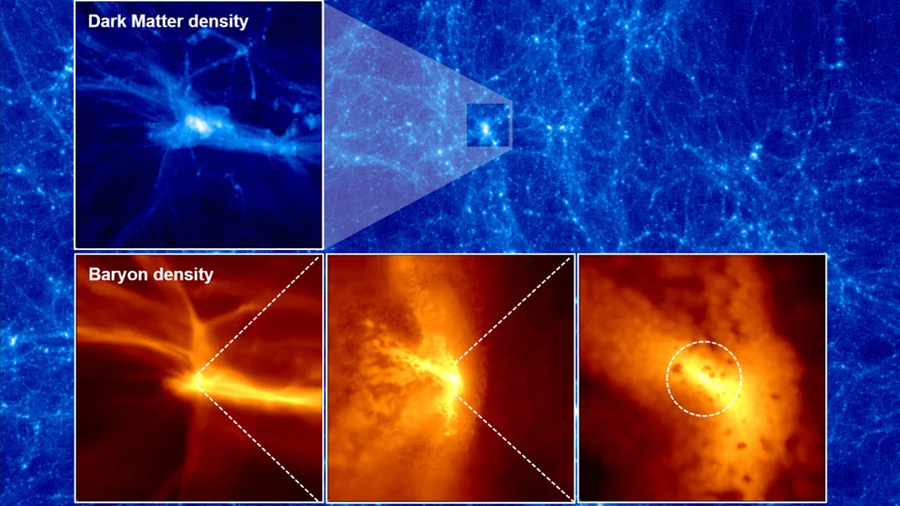 Explican el origen de los monstruosos agujeros negros aparecidos tras el Big Bang