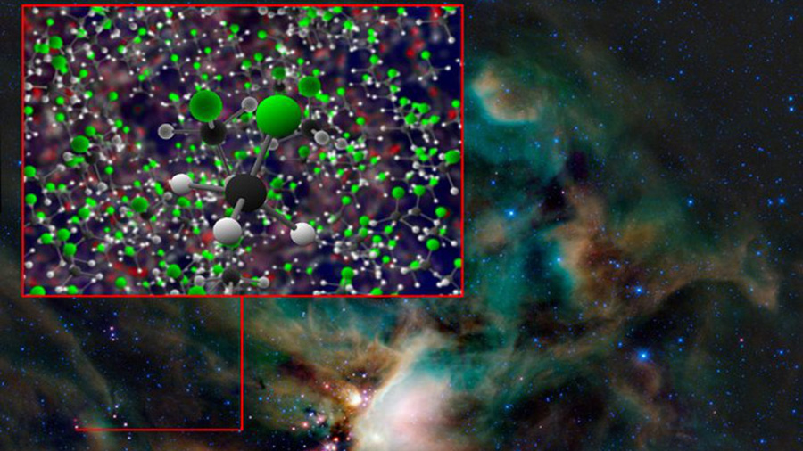 El clorometano interestelar decepciona a los astrobiólogos