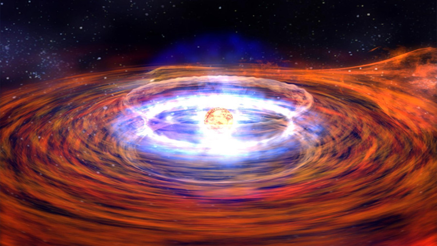 Descubren agujeros negros dobles con una masa millones de veces mayor que el Sol