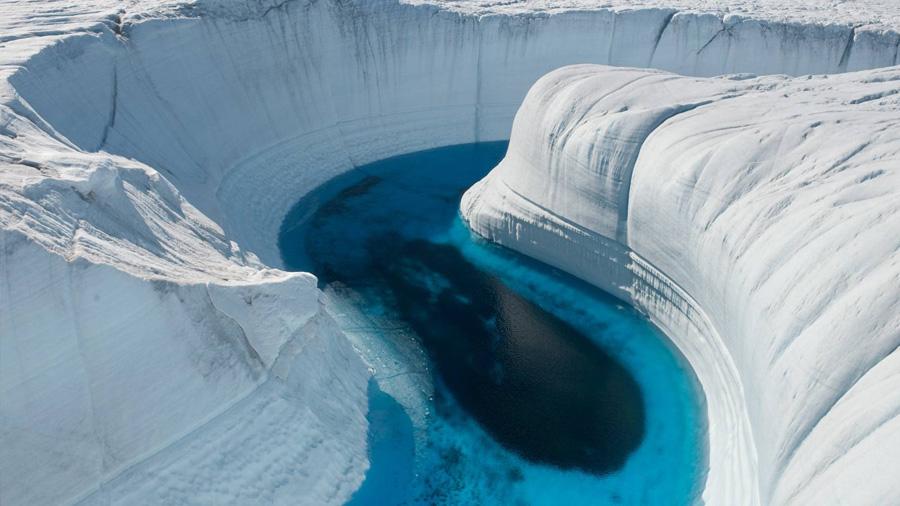Cañones bajo el hielo de la Antártida también contribuyen a su deshielo
