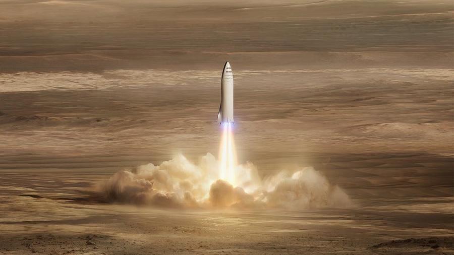 Qué sentirán los pasajeros de los cohetes de transporte que propone Elon Musk, según un astronauta de la NASA