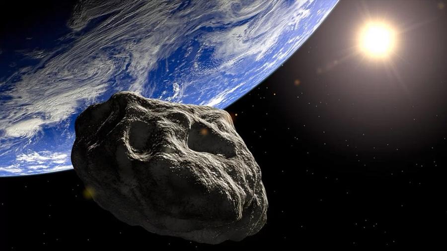 Así fue el paso de un asteroide cerca de la Tierra