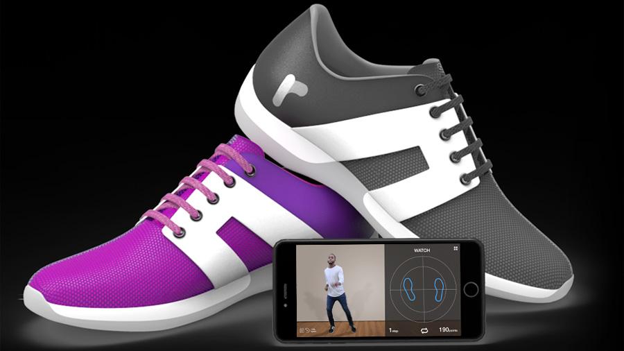 Rhythm shoes, los zapatos inteligentes para aprender a bailar