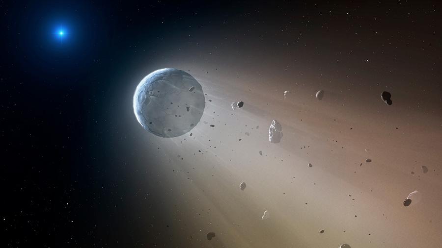 La estrella Kronos, una devoradora de planetas