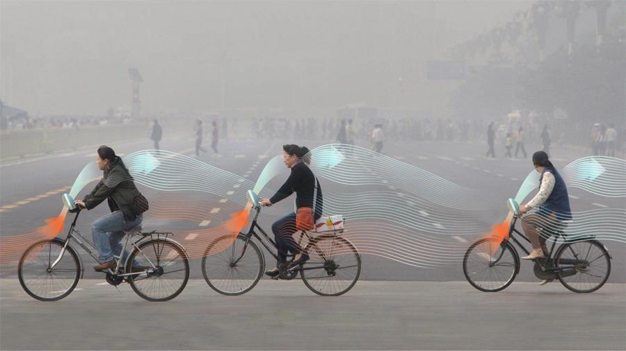 Bicicletas que absorben contaminación, el nuevo medio de transportarte citadino